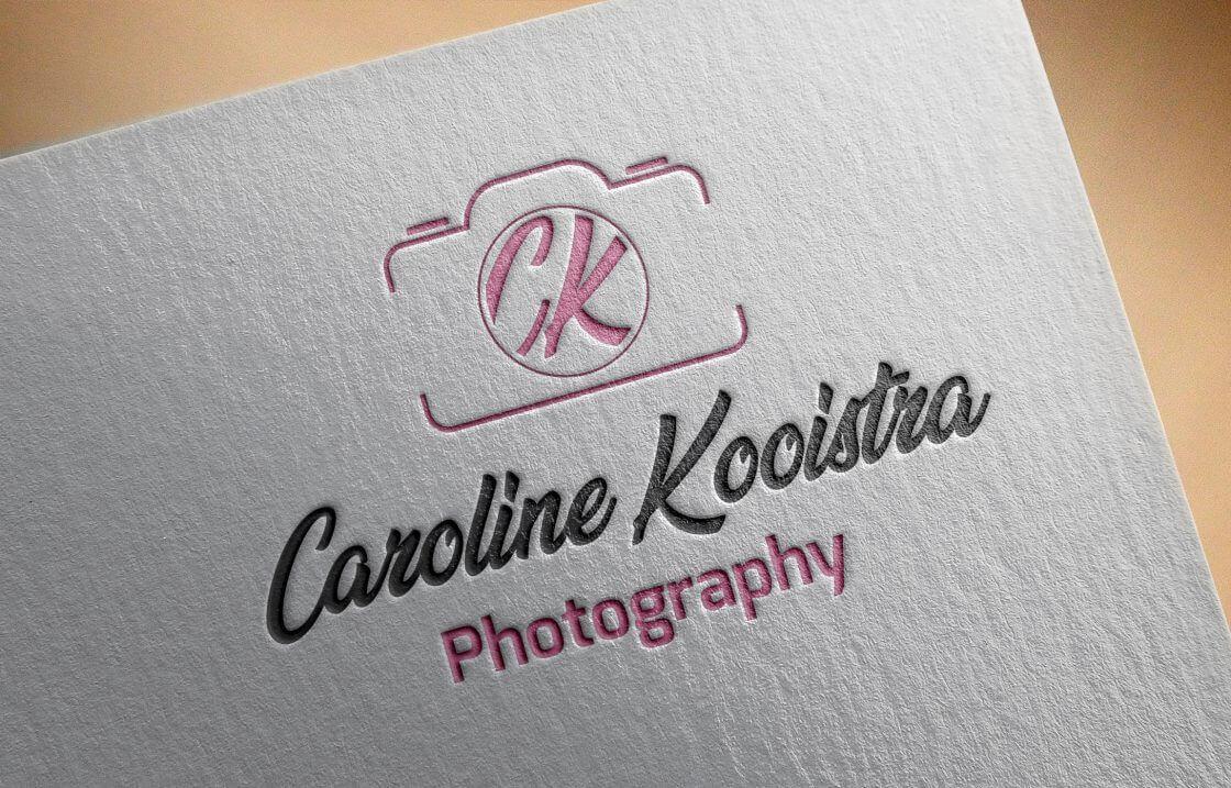 Caroline Kooistra Logo Ontwerp
